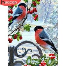 HUACAN 5D Сделай Сам Алмазная картина птица Стразы картины Алмазная вышивка Продажа животное вышивка крестом мозаика набор