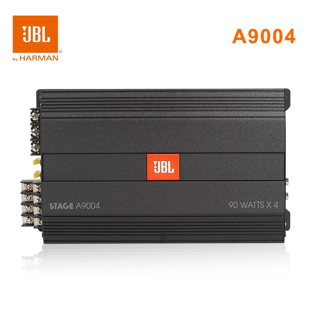 Harman JBL STAGE A9004 Car Amplifier Four Channel AB HIFI Auto Audio 90W 2ohm 110W 4ohm