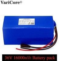 VariCore 36V 16ah 18650 lithium-Batterie pack 1000Watt 20A bms schutz 16000mAh backup-stromversorgung