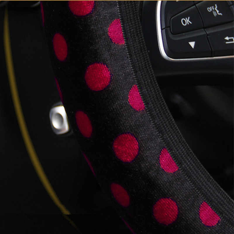 سيارة غطاء عجلة القيادة أفخم مرونة المضادة للانزلاق السيارات الداخلية الديكور المقود سيارة التصميم العالمي بالجملة