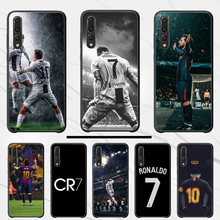 Ronaldo Football superstar Lionel Messi DIY Printing Phone Case cover Shell For Huawei P30 pro P9 P8 lite 2017 2016 P7(China)