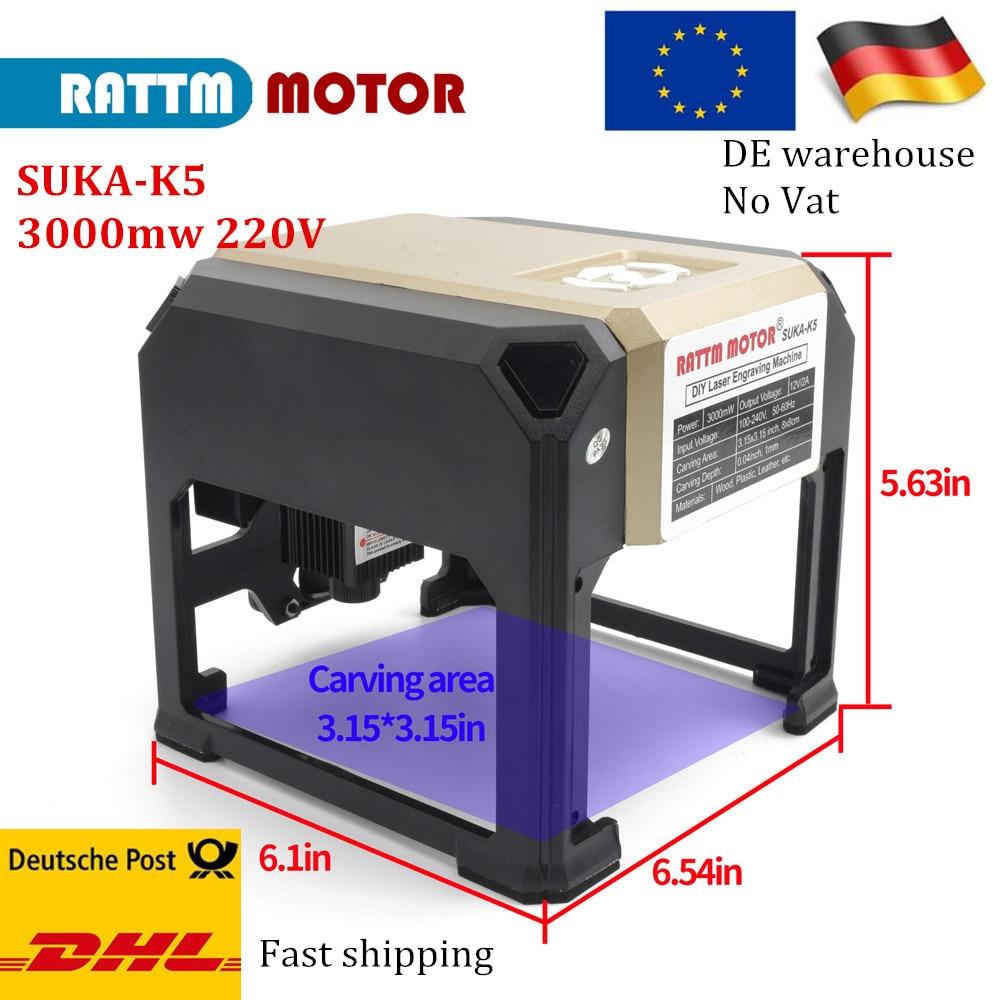 Expédition à 3000mw CNC mini laser machine de Gravure laser sutter Logo BRICOLAGE laser machine de marquage