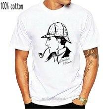 Sherlock holmes dr watson filme 80s 90s t camisa harajuku verão 2020 tshirt streetwear xxxtentacion