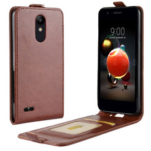 Mobile Phone Bags Cases Flip Cover PU Leather Case For LG V3