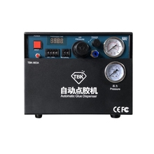 цена на TBK 983A Built-in air compressor auto Glue Dispenser Solder Paste Liquid Controller Dropper Fluid dispenser