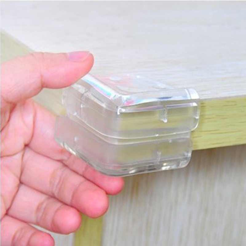 10Pcs/Lot Baby Safety L Shape Transparent Protector Cover Table Corner Guards Children Protection Furnitures Edge Corner Guards