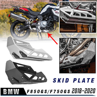 F850GS F750GS Engine Guard Extension Sump Bash Guard Oil Sump Protector Skid Plate for BMW F 850 GS F 750 GS 2018 2019 2020