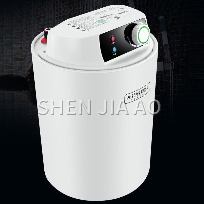 Kbxstart grifo calentador de agua eléctrico cocina baño hogar calentador de agua verano caliente inteligente ducha caliente - 5