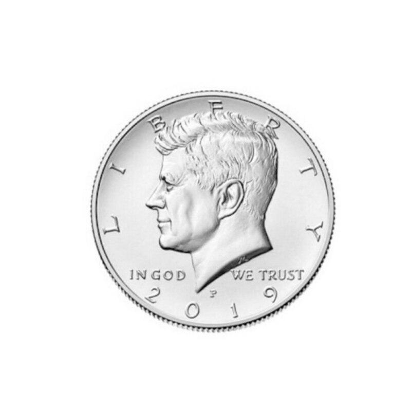 Kennedy Half Dollar Collection Commemorative Coin Silver Plated Collectible Coin Crafts Art Souvenir Antique Imitation