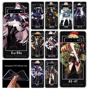 Girls Frontline Gun AK 98K Phone Case Luxury Cover For Samsung Galaxy A51 A71 A70 A50 A40 A30 A20E A10S M30S A21 A6 A7 A8 A9 Plu