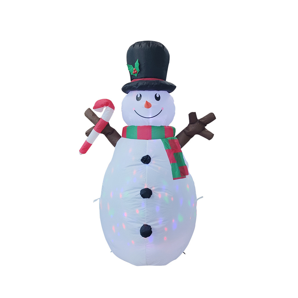 160cm Christmas Decorations Upgraded Snowman Inflatable Props Inflatable Toy Indoor Outdoor Yard Garden Decorations-1