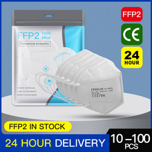 10-20-50-100 PCS FFP2 Mask Protective Dust KN95 Face Mask FFP2 Mascarillas Tapabocas Masque Fast Ship From Spain France Belgium