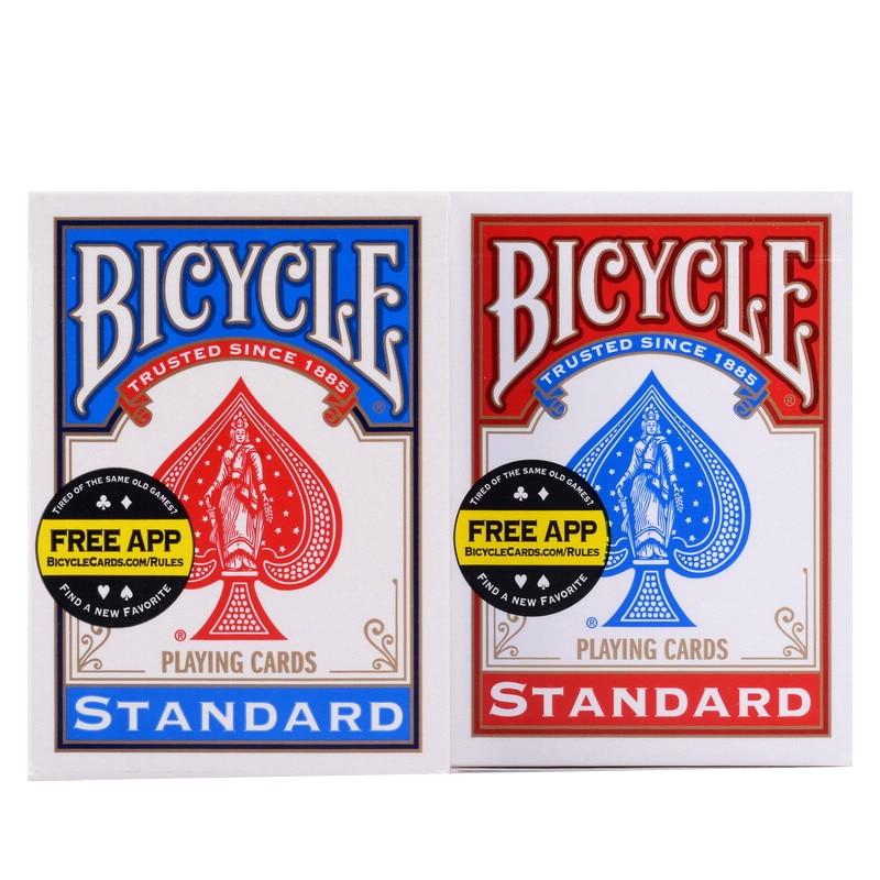 1 Deck Original Bicycle Playing Cards Bicycle Standard Deck Regular Bicycle Cards Deck Rider Back Card Magic Trick Magic Props