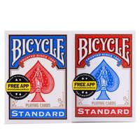 1 deck Original Fahrrad Spielkarten Fahrrad Standard Deck Regelmäßige Fahrrad Karten Deck Reiter Zurück Karte Zaubertrick Magie Requisiten