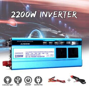 Potente Aspirapolvere | VicTsing 2200W Car Inverter DC 12V A AC 110 V/220 V Di Tensione Auto Inverter Di Potenza Di Alta Efficienza Inverter Per Auto Aspirapolvere