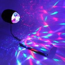 LED DJ Stage Light 4W RGB White DC5V USB Switch Lights flexible mental neck Multicolor lighting Party KTV Bar Led Lamp usb powered flexible neck 28 led white light lamp blue