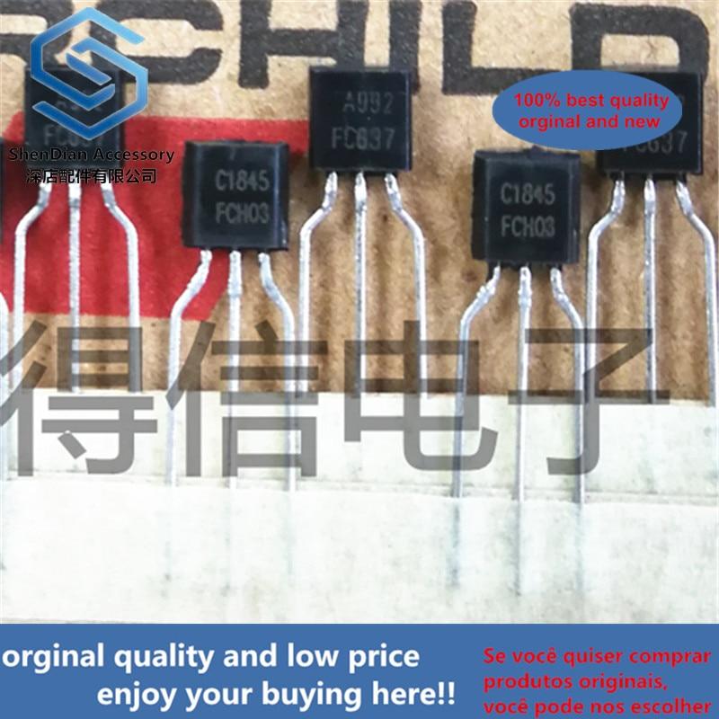 10pairs 100% Orginal KSC1845F KSA992F TO-92 Real Photo