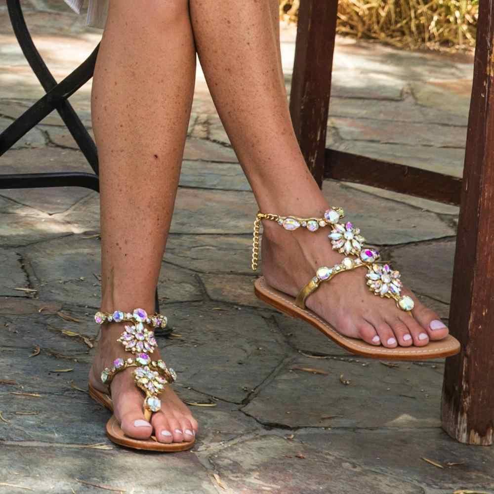Bling Bling Sandalen Pvc Ontwerp Strass Transparante Stiletto Sandalen Schoenen Kristal T-Strap Dame Hoge Hakken Sexy Party Schoenen