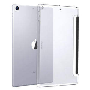 ESR Case for iPad Mini 5 2019 Clear Hard Shell Perfect Match with Smart Keyboard Smart Cover Slim Fit Back Case for iPad mini 5(China)