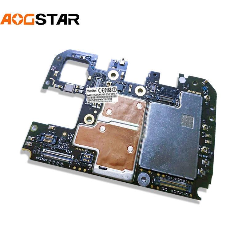 Aogstar Unlocked Main Mobile Board Mainboard Motherboard With Chips Circuits Flex Cable For Xiaomi 8SE Mi8SE M8SE Mi 8 SE 4+64GB