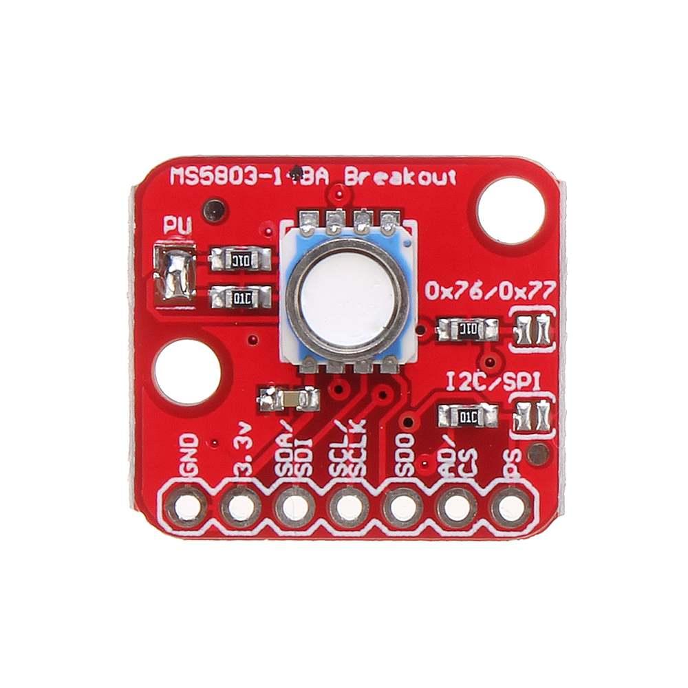 Original MS5803-01BA MS5803 01BA High Precision Fluid Liquid Gas Voltage Sensor Module Waterproof I2C/SPI Pressure Sensor Board
