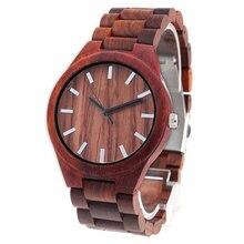 Прямая поставка наручные часы унисекс с гравировкой красных