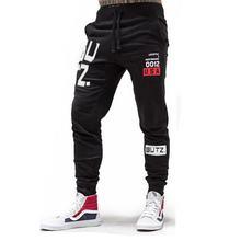 Осенние мужские брюки спортивные штаны для фитнеса джоггеры