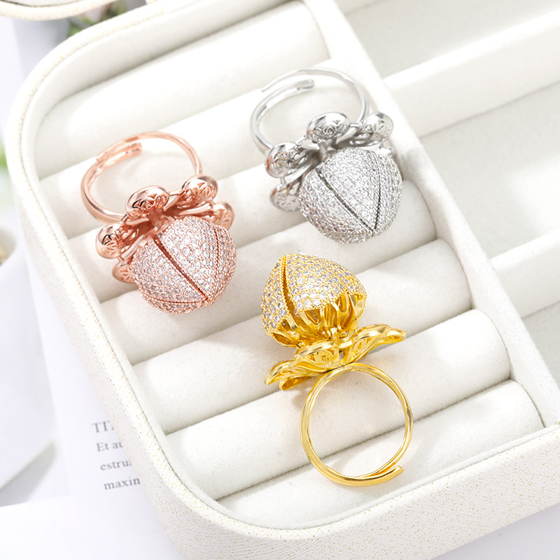 Flocaw Mechanical Flower Blooming Ring 6