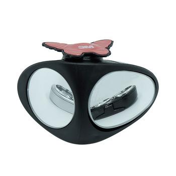 Samochodowe dwustronne lusterko pomocnicze samochodowe lusterko wsteczne i pokrowce obrót o 360 stopni ABS czarny tanie i dobre opinie 2 2inch TR-119 0inch 2 5inch 2 9inch Lustro i pokrowce 360 degree rotation 180g Black