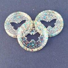 50 шт 26 мм Красочные бабочка отверстие кольцо Пряжка пластиковый диск DIY переплет пластины для офиса обучения Переплет поставки