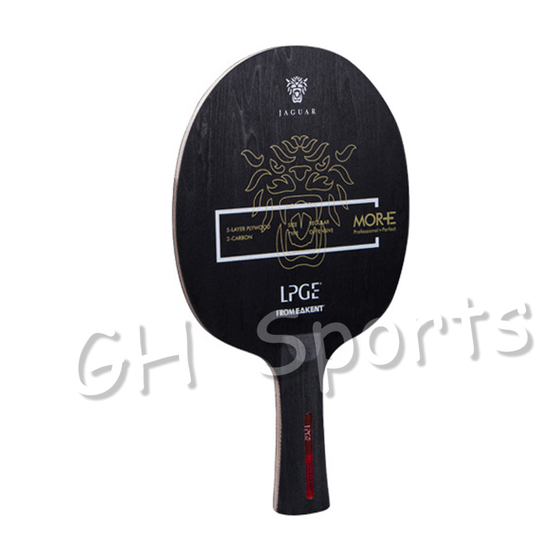 EAKENT Jaguar LPGE Table Tennis Blade Offensive Single Carbon Vertical Racket