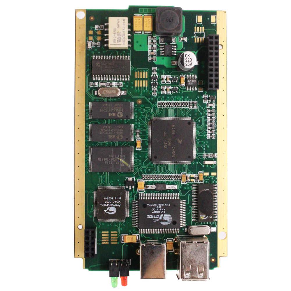 OBD2 Diagnostisch Hulpmiddel Voor Renault Kan Clip Volledige Chip Diagnostic Interface Voor Kan Clip V195 + Reprog V195 Cipres AN2131QC canclip