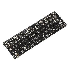 YMDK 60% YD60MQ QMK Programmable Underglow RGB Led PCB Plate Stabilizers For DIY Mechanical Keyboard Replacble GH60 64