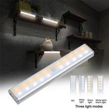 20 лм светодиодный двухрядный светильник под шкафом кухонная