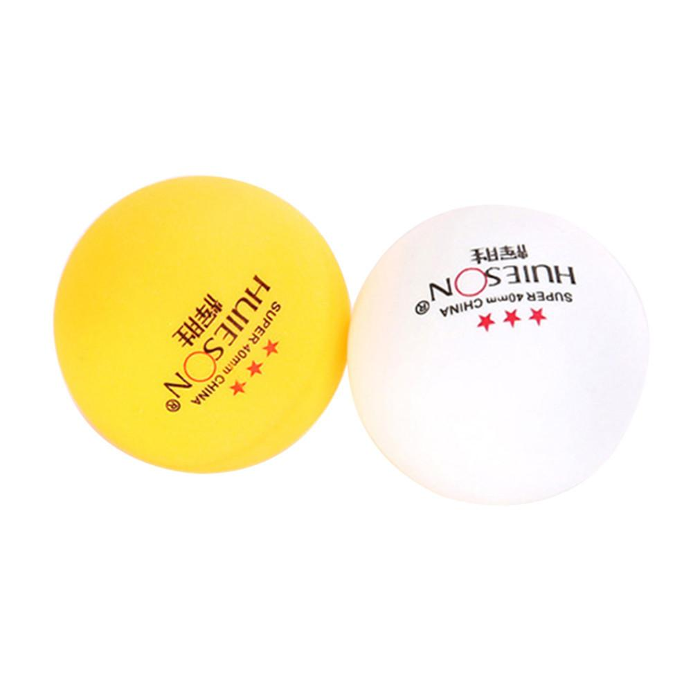 10pcs Professional Table Tennis Ball 40mm Diameter 2.9g 3 Star Ping Pong Balls For Competition Training Ping Pong Balls