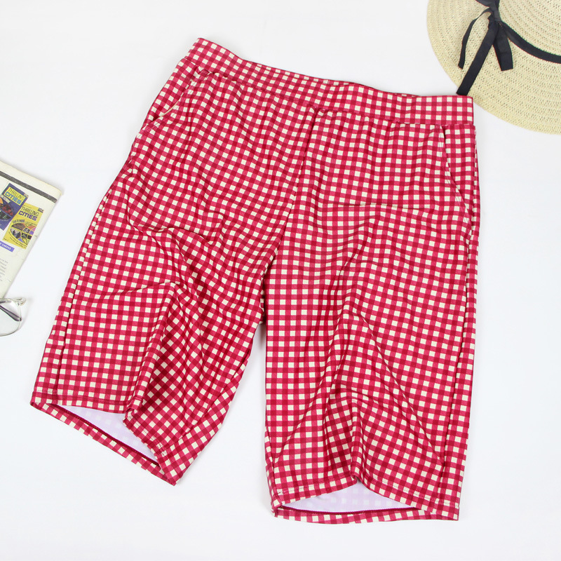 2019 South Korea New Style MEN'S Swimming Trunks Fashion Handsome Quick-Dry Large Size Comfortable Casual MEN'S Beach Pants Shor