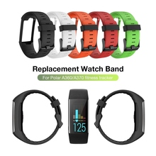 купить Practical Wristband Watch Band For Polar A360 A370 GPS Smart Watch Smart Bracelet High Quality Silicone Replacement Buckle Strap по цене 276.81 рублей