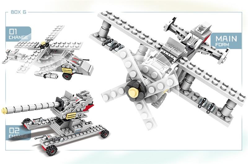 1000+ PCS Military Warship Navy Aircraft Army Figures Building Blocks LegoINGlys Army Warship Construction Bricks Children Toys (14)