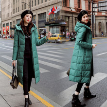 Winter Jacket Women Long Parka Hooded Casual Feminin Woman Coats and Puffer Padded Outwear Coat Parkas M-6XL