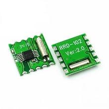 10 pces módulo de rádio estéreo fm rda5807m módulo sem fio profor RRD-102V2.0