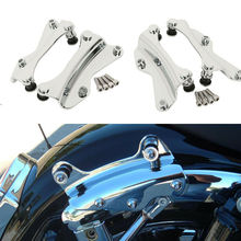 Motorcycle 4-Point Docking Hardware Kit For Harley Touring FLHR FLHX FLTRX FLH FLT Electra Street Glide Road King Modes 14-19