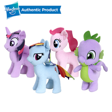 Hasbro 25.4cm My Little Pony Soft Plush Ast Princess Twilight Sparkle Rainbow Dash Pinkie-Pie Spike Child Gift
