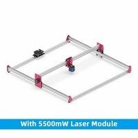 Gk1010pro máquina de gravação a laser 5500mw (zoom) alta precisão impressora 3d diy desktop pessoal all-metal máquina de gravação a laser