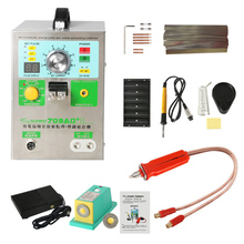 4 in1 Diy Spot Welding Machine Fixed Pulse Welding Constant Temperature Soldering Triggered Induction Spot Welding HB-70B 709AD+