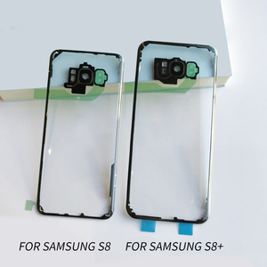 Image 2 - עבור Samsung S8 S8 בתוספת ברור סוללה שיכון כיסוי דלת אחורית מקרה החלפה לסמסונג גלקסי S8 S8 + סוללה כיסוי מקרה
