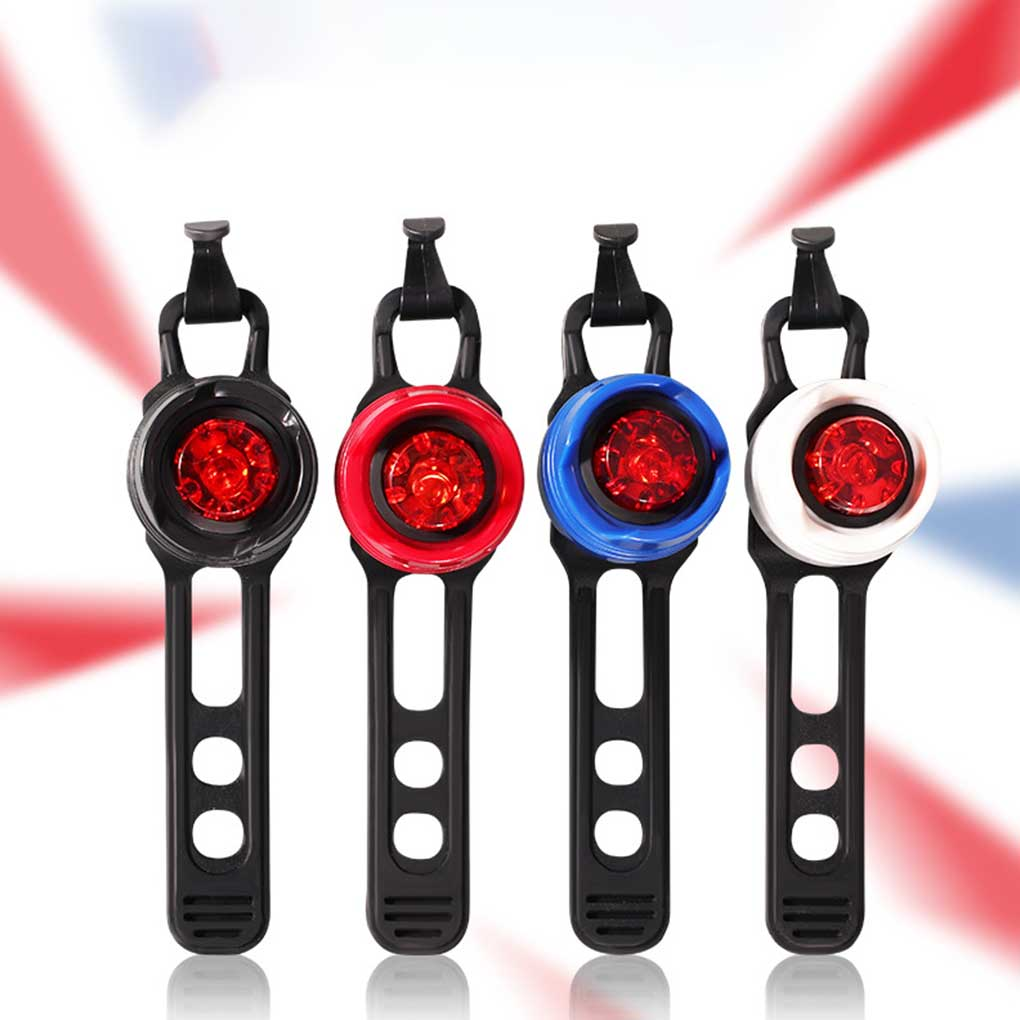 FangNymph Aluminum Alloy LED Bike Taillight Road Bicycle MTB Fixed Gear Cycling Battery Powered Rear Light Lamp