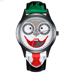 clown wrist watch man cyber celebrity simple   individuality Super scholar concept  electronic ultrathin  student  tide