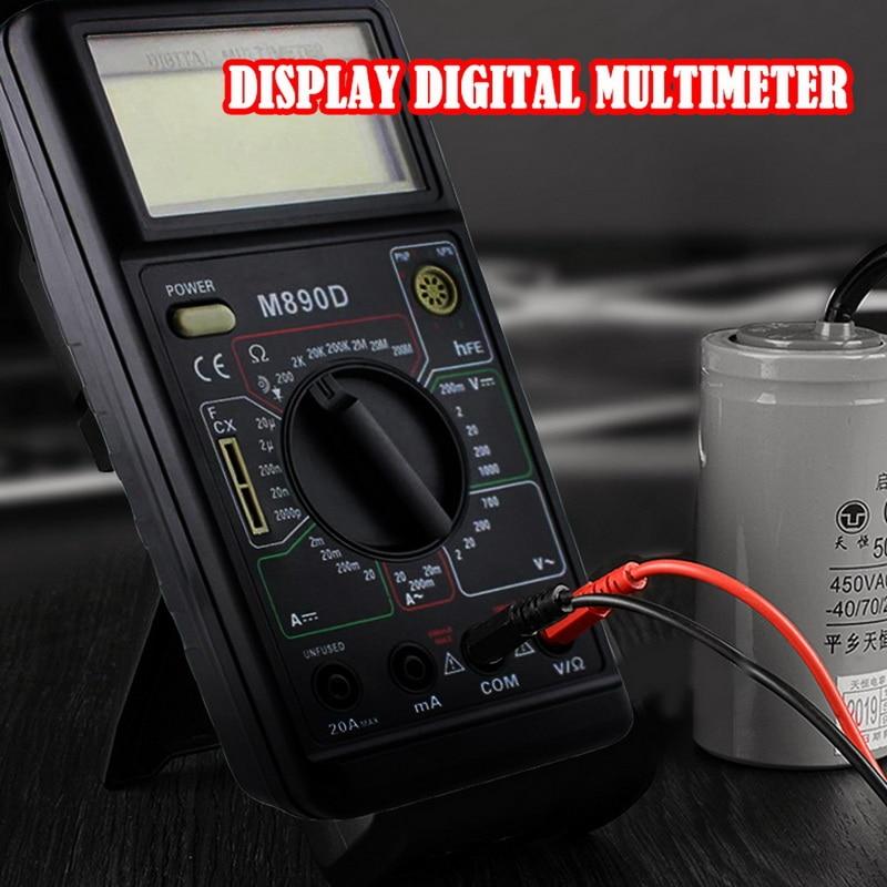 Portable Digital Multimeter AC/DC Ammeter Resistance Tester Multitester Current Tester DT830L/DT890D/DT820B/DT700B/DT3266L