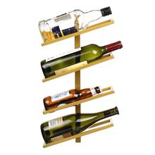 Storage-Organizer Rack Hanging-Holder Wine Glass Home-Bar-Decor Wall-Mounted Iron Modern