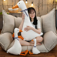 Fluffy Goose Plush Toy Cute Animal Popular Stuffed Swan Dolls Fashion Kids Plush Toys for Children Birthday Christmas Gift Doll(China)